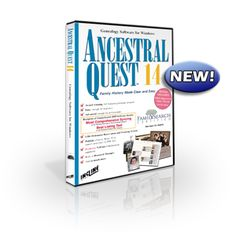 Ancestral Quest family tree software/genealogy software for Windows