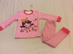 new toddlers kids girls winter warm thick sleepwear pajamas set