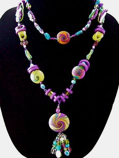 Polymer Clay Necklace | Flickr - Photo Sharing!