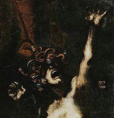 °Strange World° — patricia-loves-art: Franz von Stuck, The Wild. Arte Horror, Horror Art, Dark Fantasy Art, Dark Art, Les Fables, Psy Art, Creepy Art, Classical Art, Renaissance Art