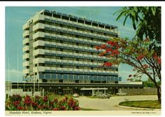 Photo by John Hinde | c1960s | Hamdala Hotel, Kaduna | source: johnhindecollection.com