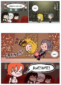 I love these comics. XD | Dumb RWBY comics