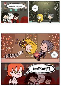 I love these comics. XD | Dumb RWBY comics