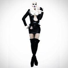 Sharon Needles dressed to kill