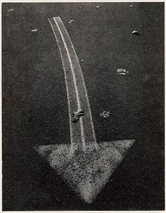 Street Arrow, Boston, Massachusetts, 1960. Photo by Ansel Adams