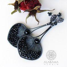 BLACK FRIDAY SALE  Black stars  exclusive by AlabamaStudio on Etsy