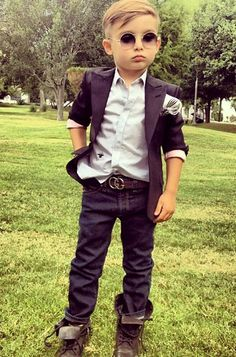 Kid style. How awesome for a little boy! This might be a little too cool!