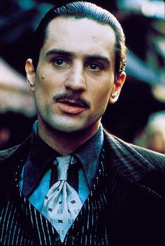 """Robert De Niro """"The God Father PART II"""" i absolutely love this part of the 3 part movie!"""