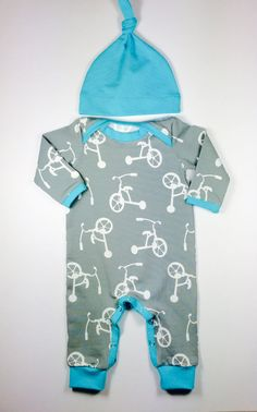 Baby boy hospital outfit organic baby clothes baby by vagabondzone