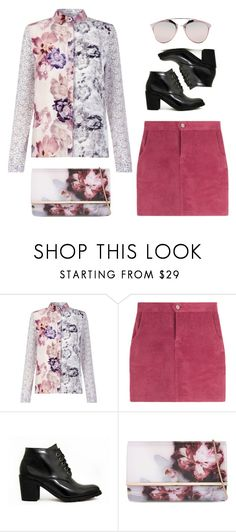 """""""Unbenannt #1451"""" by uniqueautumn ❤ liked on Polyvore featuring Ted Baker and Christian Dior"""