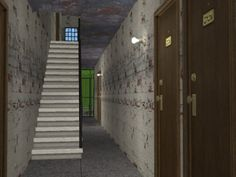 Broken Down Apartments the only cc is the walls... - Misha's Sims