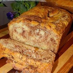Amish Cinnamon Bread Add 2Tbs vinegar to milk to make buttermilk