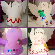 advent activities, angels, christmas crafts for kids