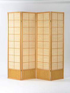The ever popular Matsu room divider screen with natural timber surround available from #Futons247 with UK wide delivery.