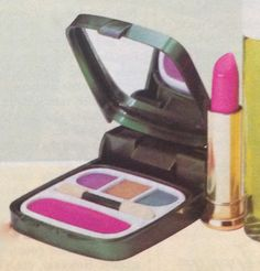 "Coty ""Bold Intentions"" Makeup ""Color Kit"", 1984"