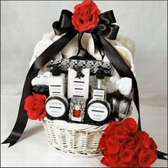Wedding Day Gift Basket For Groom : ... on First Night Wedding gift baskets, Gifts and Gift basket ideas