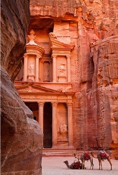 Petra, Jordan by Kimberly Coole – Travel Photography so I can pretend to be Indiana Jones.