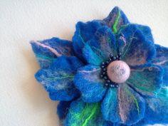 "I ""felt"" a little blue.... by Janine Sodano on Etsy"