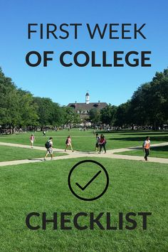 The first week of college is definitely a learning process - make sure you start…