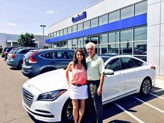 *Congrats to Stuart and Lisa on their New 2015 *#HyundaiGenesis*!*   Thanks again from myself and everyone here at #ConicelliHyundai and the #ConicelliAutoplex,  #HasaanRicks Sales Consultant Conicelli Hyundai 1208 Ridge Pike #Conshohocken Pa, 19428 *610-832-7911 ext. 2304*  *Shop 5 Brands at 1 Location*  +Conicelli Honda +Conicelli Nissan +Conicelli Hyundai +Conicelli Toyota Scion +Conicelli Autoplex     The #conicelliautoplex  #cars #dealership #preowned #HasaanRicks #conicelli #Hyundai…
