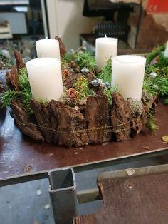 Rustikal schicker Adventkranz - #adventkranz #dekoration #rustikal #schicker - #Adventkranz #Dekoration #rustikal #schicker