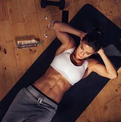 Target those hard to reach lower abs with these challenging core moves. Ensure you are sculpting an entire six pack by adding these moves into your core circuit. Soon you will see a toned, flat stomach and a strong core.