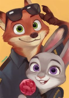 """You know you love me."" ""Do I know that? Yes, yes I do."" ~Nick and Judy"