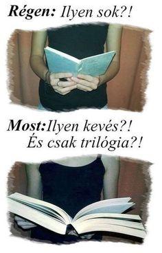 """Régen se mondtam hogy """"ilyen sok"""" és most se mondom😂 Book Qoutes, Book Memes, Books To Read, My Books, Romance Books, Love Book, Book Lovers, Book Worms, Funny Jokes"""