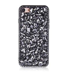Luxury Fashion Glitter Diamond Crystal Rhinestone Phone Case Shining Bling  Back DIY Cover For iphone5 5s 6 6s 6plus 6s plus 73fdecccebd1
