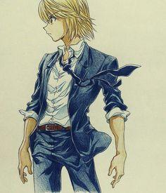 Kurapika~hxh~Hunter X Hunter Hisoka, Killua, Hunter X Hunter, Hunter Anime, Rin Okumura, Fanarts Anime, Anime Characters, Hetalia, Manga Art