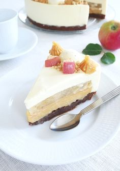 Höstmoussetårta | erikasfikastund Food Cakes, Cake Recipes, Cheesecake, Deserts, Sweet, Cakes, Candy, Recipes For Cakes, Cheese Cakes