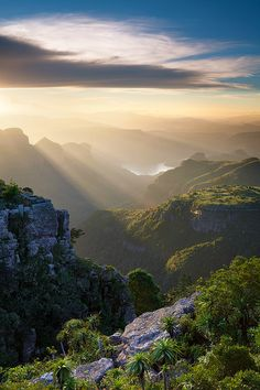 the blyde river canyon, south africa. most amazing places to visit in south africa. Places Around The World, Oh The Places You'll Go, Places To Travel, Places To Visit, Around The Worlds, Travel Destinations, Beautiful World, Beautiful Places, Amazing Places