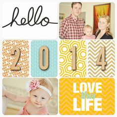 2014   Digital project life album pages pocket Scrapbooking Becky Higgins holly connors Scrapbooking