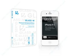 glassm_with_iphone4_water Phone Screen Protector, Glass Protector, Tempered Glass Screen Protector, Lg G3, My Glass, Iphone 4s, Water, Gripe Water, Iphone 4