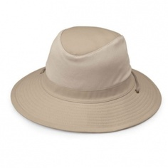 8e84bfce6dc Wallaroo Men s UPF 50 Sun Hat Solid color design Water resistant Crushable  for easy packing Adjustable inner drawstring for great fit Hand washable ...