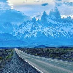 A photo by my friend Mario of El chalten  in Patagonia, Argentina