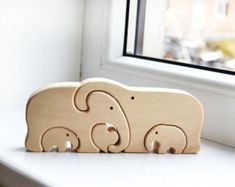 Animal puzzle Wooden elephants family Puzzle Toy Wooden Puzzle elephant Educational toys Funny Mother's day gifts Mother in law Christmas Gifts For Kids, Kids Gifts, Family Gifts, Tier Puzzle, Escape Room Puzzles, Wooden Elephant, Elephant Elephant, Animal Puzzle, Elephant Family