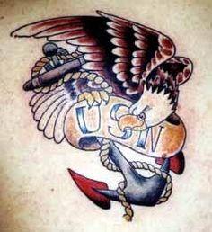 US Navy tattoo military