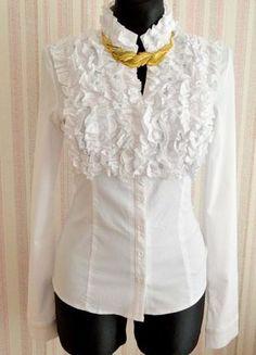 Įsigyk mano drabužį #Vinted http://www.vinted.lt/moteriski-drabuziai/marskiniai/19144462-stilingi-elegantiski-klasikiniai-baltos-spalvos-marskiniai