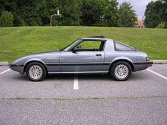 "1985 Mazda RX-7 (yep, I loved this car, wanted it so badly... parents said, ""NO-WAY, if you wreck in that you don't have a chance""... so here I am... didn't get it, didn't have a chance to wreck in it...)"