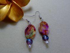 Stunning Abalone Shell, Fresh Water Pearls