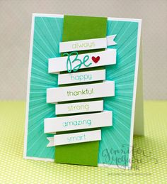 Created by Jennifer McGuire with the Brand New Simon Says Stamp Summer Releases. May 2013