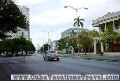 Linea Street, Vedado. Havana