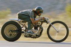 Blown Harley Davidson Side-valve - 'Cojones' - Pipeburn - Purveyors of Classic Motorcycles, Cafe Racers & Custom motorbikes . Cool Motorcycles, Triumph Motorcycles, Vintage Motorcycles, Ducati, Flat Tracker, Bobber Custom, Custom Bikes, Bobbers, Bmw