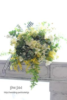 ナチュラルブーケ ワイルドブーケ natural bouquet Beautiful Bouquet Of Flowers, Beautiful Flower Arrangements, Wedding Flower Arrangements, Beautiful Flowers, Wedding Table Flowers, White Wedding Bouquets, Bridal Flowers, Rustic Bouquet, Dried Flowers
