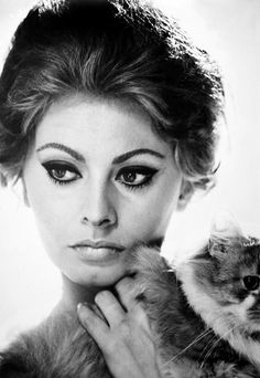 Sofia Loren. #obsessed with your #style + #grace