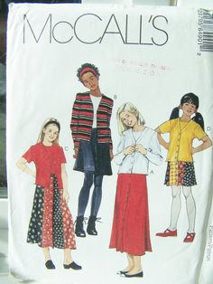Simplicity 8490 Girl's Sewing Pattern  Girl's by WitsEndDesign