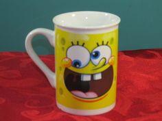 Sponge Bob Funny Face Collectible cocoa coffee cup mug