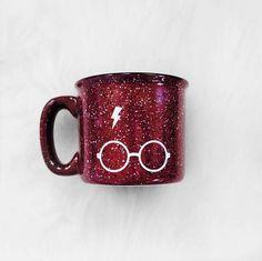 Harry Potter Campfire Style Ceramic Mug 12 oz. // Lightning