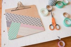 Clipboard | Creative Ways to Personalize with Washi Tape